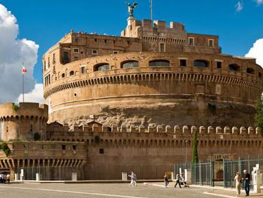 Замок Св. Ангела и площадь Св. Петра